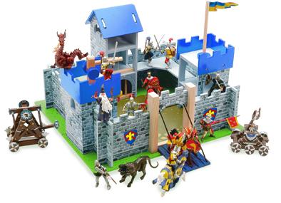 Dřevěný hrad Excalibur