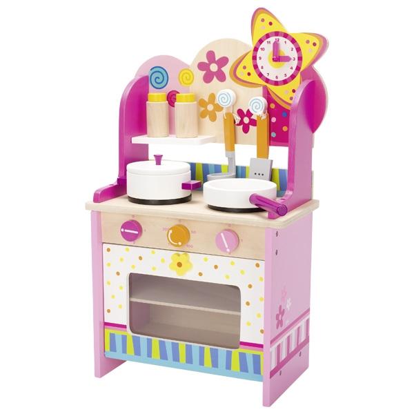 Dřevěné domečky pro panenky, dřevěné hračky, dětské   -> Kuchnia Drewniana Brio