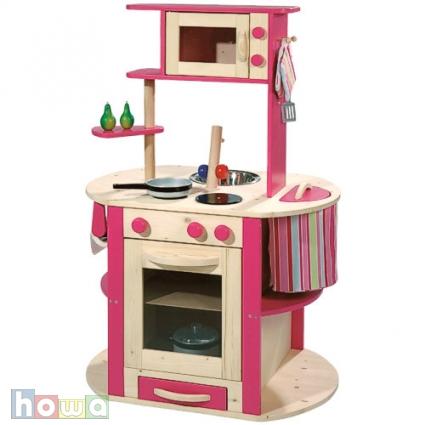 Dětská dřevěná kuchyňka